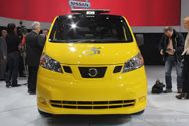 nissan nv200 taxi nissan nv200 evalia mobility taxi unveiled new york live
