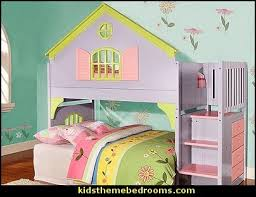 dollhouse style beds doll house stair step loft bed theme beds