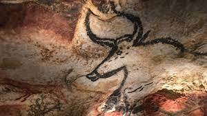 next to the original france replicates prehistoric cave paintings