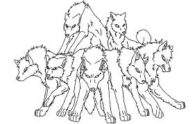wolf pack coloring pages 28 images wolf pack coloring pages