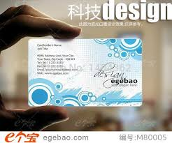 wholesale new fashion custom artwork printing custom visiting card