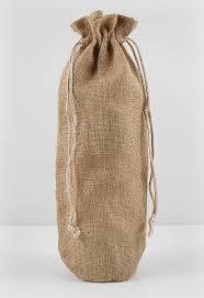 burlap drawstring bags wine bags drawstring pack of 5