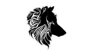 small tribal wolf tabatha ink me