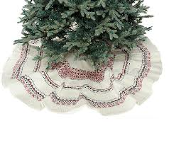 ed on air 60 knit fair isle tree skirt by degeneres page