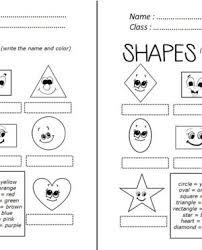 grade esl worksheets worksheet english exercises for kids shapes