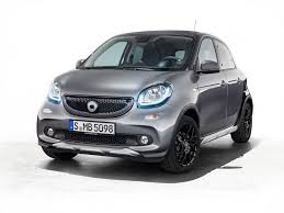 smart fortwo cabrio brabus edition 2 and forfour crosstown