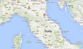 Foggia Italy Map Forli Italy Map