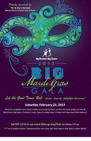 big mardi gras big brothers big big mardi gras gala 2013