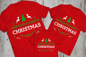 christmas shirts custom name matching family christmas shirts awesome matching