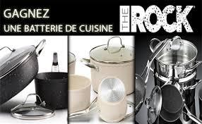 batterie cuisine ceramique gagnez une batterie de cuisine the rock céramique gagnez gros