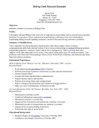 Medical Office Resume Templates Best Photos Of Medical Office Clerk Resume Examples Billing