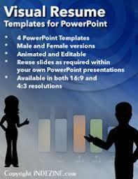Powerpoint Resume Visual Resume Powerpoint Templates Visual Resume Presentation