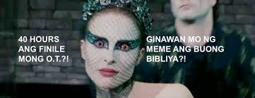Black Swan Meme - hugot non up hugot non up shared advertising black swan facebook