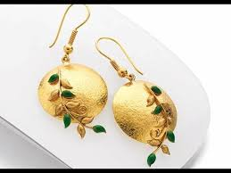 stylish gold earrings stylish gold earring for women with price gold jewellery