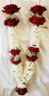 indian wedding flower garlands fresh flower garlands for weddings wedding corners