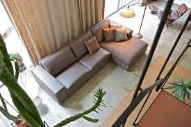 Manhattan Leather Chair Modular Sofa Contemporary Leather Fabric Manhattan Alberta