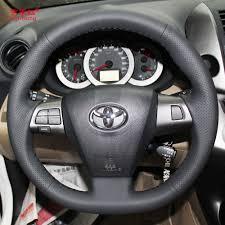 toyota corolla steering wheel cover yuji hong car steering covers for toyota corolla 2011 rav4