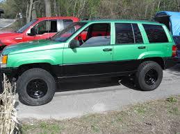 jeep grand cherokee green dickyd08 1996 jeep grand cherokee specs photos modification info