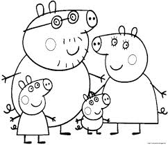 coloring pages peppa the pig pig coloring pages kids colouring printable cartoon related post