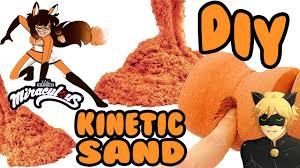 miraculous ladybug how to make kinetic sand volpina diy crafts