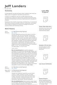 Electrical Design Engineer Resume Sample by Manufacturing Engineer Resume Samples Visualcv Resume Samples