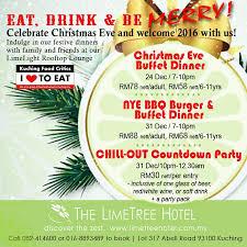 kuching food critics the limetree hotel christmas promo