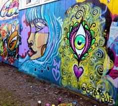 chelsea rose fine art bench mural 2 in portland oregon