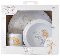 Wedding Gift How Much Money Guess How Much I Love You Breakfast Set By Rainbow Designs