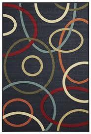 Thin Runner Rug Superior Rugs Black Rug Hil1030black 13 U0027 X 16 U0027 Feraghan New