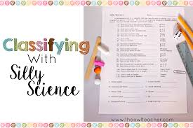 classifying with silly science the owl teacher