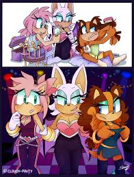 Girls Night Out Meme - girls night out sonic the hedgehog know your meme