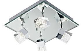 ceiling hovering ceiling design idea with led lights and