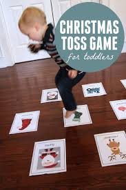 christmas toss game for toddlers tossed activities and craft