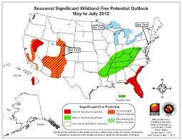 Unr Map Above Normal Wildfire Potential For Western Nevada Living With Fire
