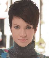 gamine hairstyles for mature women short hairstyle
