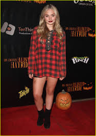 dylan sprayberry looks super at l a u0027s haunted hayride