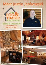 log u0026 timber home show nashville tn january 20 22 2017