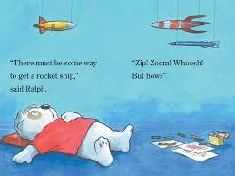 ralph rocket ship book alyssa satin capucilli henry