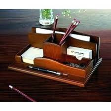 Wood Desk Accessories And Organizers Desk Organizer Accessories Office Organization Set In Decor 14