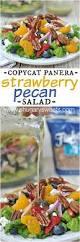strawberry pecan salad shugary sweets