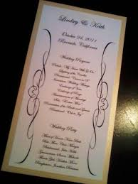 cardstock for wedding programs wedding program cardstock paper