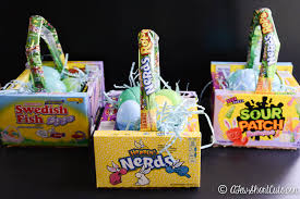 candy basket ideas candy box easter baskets a few shortcuts