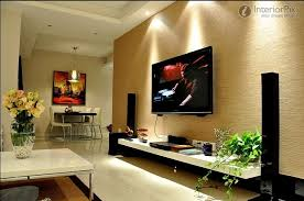 Tv Wall Decor by Attractive Living Room Tv Wall Ideas And Awesome Tv Decorating