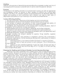 Nurse Manager Interview Questions Staffing In Nursing Management Mentorship Nursing