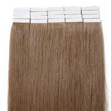 Brown Hair Extensions by 2 5g S 20pcs Straight Tape In Hair Extensions 6 Light Brown