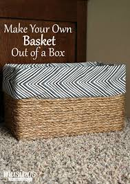 Build A Toy Box With Lid by Best 25 Cardboard Box Storage Ideas On Pinterest Decorative