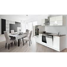 küche mit e geräten respekta küchenzeile ohne e geräte lbkb280ww 280 cm weiß kaufen