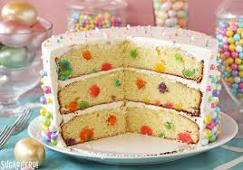 how to make cake easter polka dot cake sugarhero