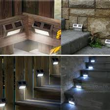 Large Solar Light by Large Solar Stair Lights For Deck Solar Stair Lights For Deck