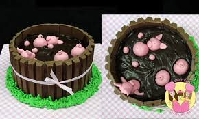 pigs in mud cake a mycupcakeaddiction collaboration how to youtube